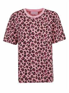 Chiara Ferragni Leopard T-shirt Over