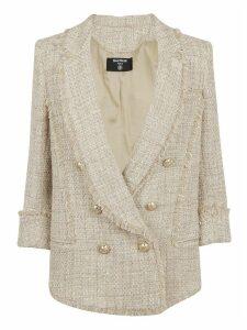 Balmain 6 Btn Tweed Pyjama Jacket