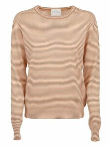 Forte Forte Micro Stripe Round Neck Sweater