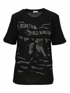 Saint Laurent Jacquard T-shirt