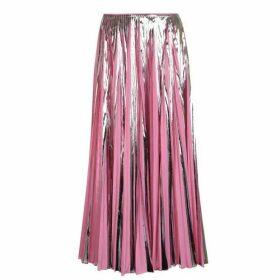 Marni Metallic Pleated Skirt
