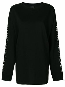 Marcelo Burlon County Of Milan Uplank over T-shirt - Black