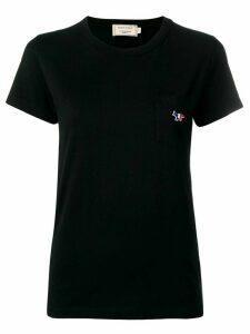 Maison Kitsuné tricolour fox T-shirt - Black