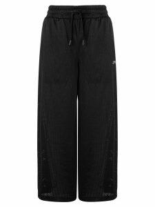 Fila cropped wide-leg track pants - Black