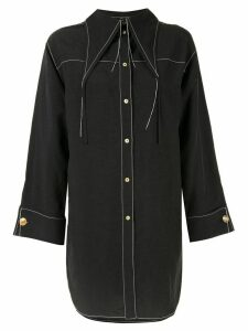 Rejina Pyo loose stitch shirt - Black