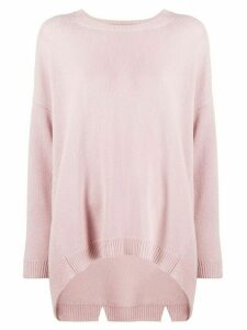 Valentino oversized cashmere knit jumper - PINK