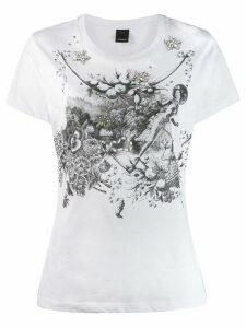 Pinko crystal embellished T-shirt - White