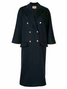 Gucci flare sleeve coat - Blue