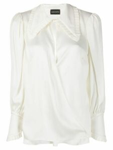 Magda Butrym long sleeve blouse - White