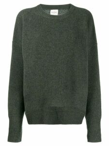 Le Kasha crewneck jumper - Green