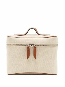 Métier - Many Day Coated-canvas Bag - Womens - Beige Multi