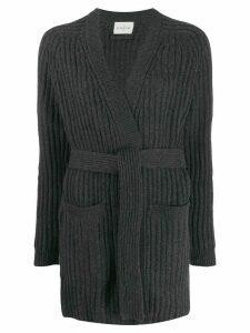 Le Kasha firenze belted cardigan - Grey
