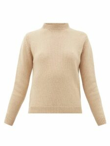 Connolly - Round-neck Camel-hair Sweater - Womens - Camel