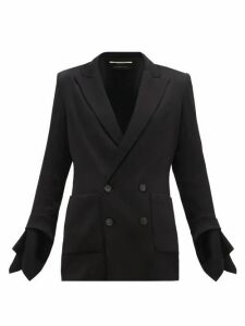 Roland Mouret - Nobleman Double-breasted Jacket - Womens - Black