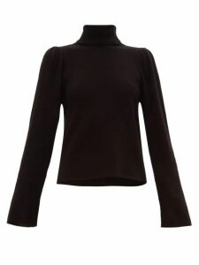 Ryan Roche - Roll-neck Cashmere Sweater - Womens - Black