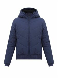 LNDR - Hooded Technical Quilted-shell Jacket - Womens - Navy