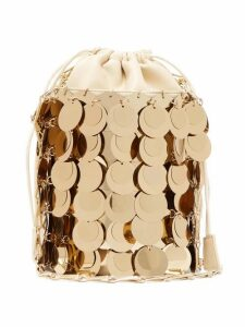 Paco Rabanne - Sparkle 1966 Small Sequinned Bucket Bag - Womens - Gold