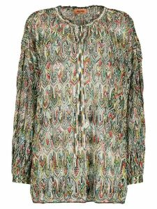 Missoni fine knit jumper - Green
