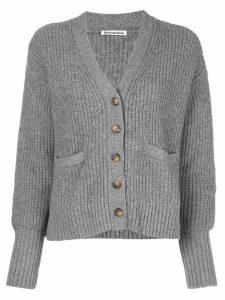 Reformation Morgan V-neck cardigan - Grey