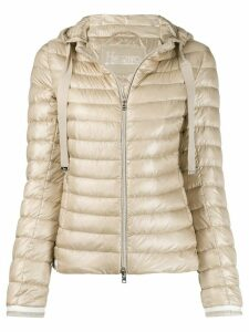 Herno quilted down jacket - NEUTRALS