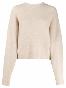 Nanushka long-sleeve fitted jumper - NEUTRALS