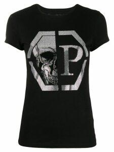 Philipp Plein embellished T-shirt - Black