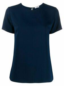P.A.R.O.S.H. back zip T-shirt - Blue