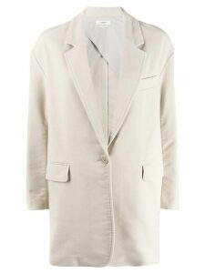 Isabel Marant Étoile fitted single-breasted blazer - NEUTRALS