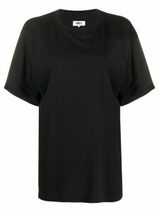 Mm6 Maison Margiela oversized T-shirt - Black