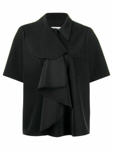 Mm6 Maison Margiela ruffled shirt - Black