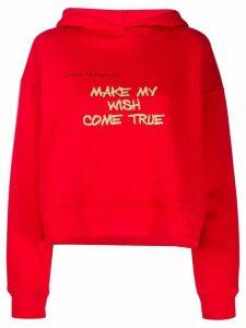 Giada Benincasa printed hoodie - Red
