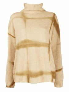 Suzusan roll neck jumper - NEUTRALS