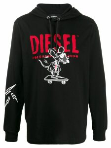 Diesel Year of the Rat hoodie - Black