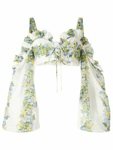 Alice McCall Conjured Dreams cold-shoulder top - Multicolour