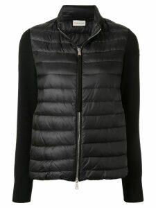 Moncler padded front jacket - Black