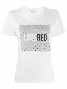 RedValentino LOVERED print T-shirt - White