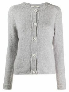 Odeeh slim-fit cashmere cardigan - Grey
