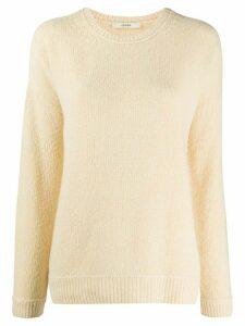 Odeeh crew neck cashmere jumper - NEUTRALS