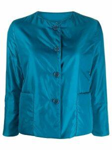 Aspesi cropped padded jacket - Blue