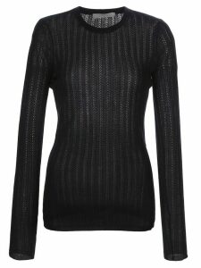 Gabriela Hearst long-sleeve fitted jumper - Blue
