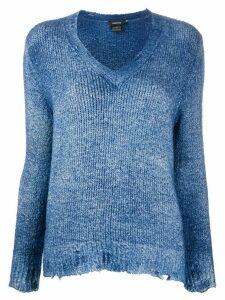 Avant Toi faded effect jumper - Blue