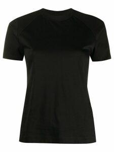 Falke mesh panel T-shirt - Black