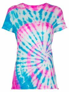 The Elder Statesman silk tie-dye T-shirt - Blue