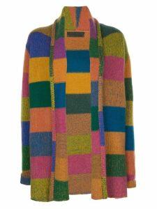 The Elder Statesman cashmere draped cardigan - Multicolour