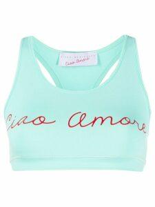 Giada Benincasa Ciao Amore top - Blue