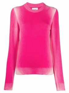 Barrie faded round-neck jumper - PINK