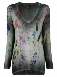 Avant Toi faded effect jumper - Grey