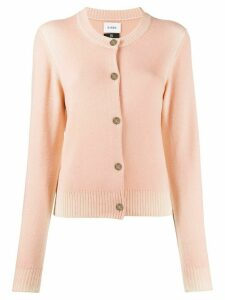Barrie faded button up cardigan - PINK