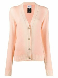 Barrie faded v-neck cardigan - PINK