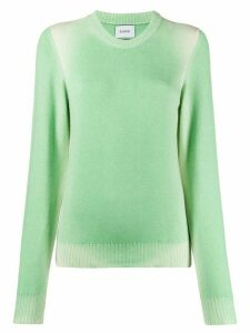 Barrie faded round-neck jumper - Green